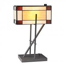 Dimond D2540 - Fort William Tiffany Glass Table L& in Matte Black  sc 1 st  Alloway Lighting & Table Lamps - Lamps - Lighting Fixtures | Alloway Lighting Co. azcodes.com